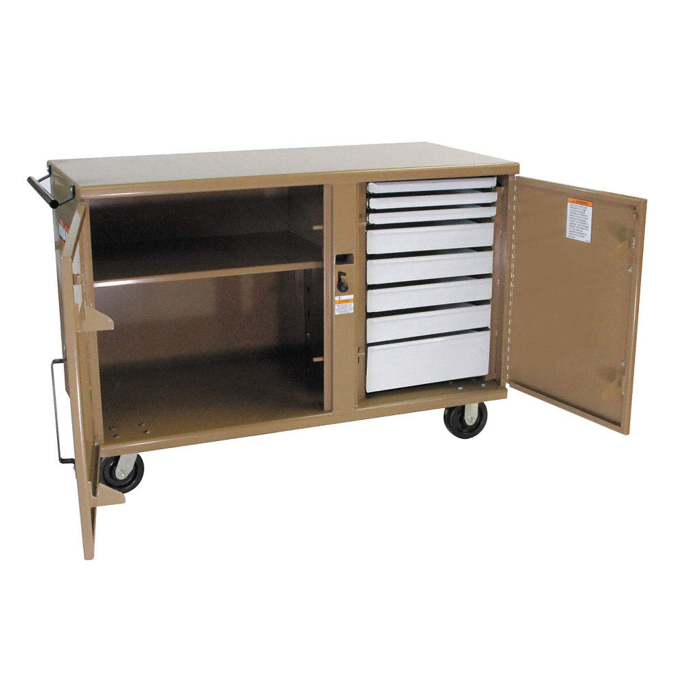 casters with w h charcoal pro cabinet gauge workbench gray series d set systems storage x p products and in piece garage newage