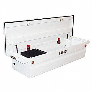 Crossover Truck Box,White,71-1/2 in. W