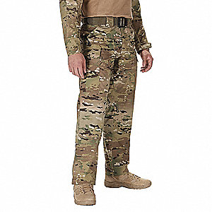 "TDU Pants. Size: L, Fits Waist Size: 35-1/2"" to 39"", Inseam: R, Multicam"