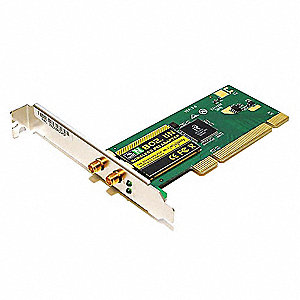 PCI Wireless LAN, PCI, Compatible With Windows Operating Systems