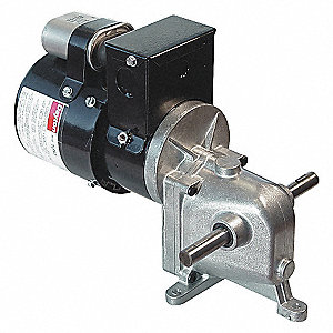 GEARMOTOR 9.5 RPM 200TORQ 115/230V
