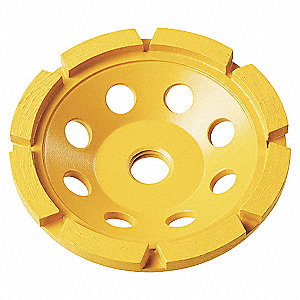 4IN CUP WHEEL HEAVY MATERIAL R