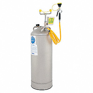 STATION EYEWASH PORTABLE PRESSURIZE