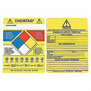 INSERTS CHEMTAG