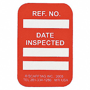 DATE INSPECTED RED