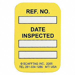 DATE INSPECTED YLW