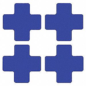 BLUE FLR CROSS 2IN X 5IN B514 20/PK