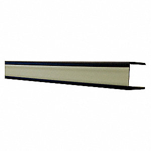 72IN X 1-1/2IN SQ HANDRAIL COVER BK