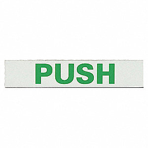 2IN X 30IN PUSH BAR DOOR MARKER