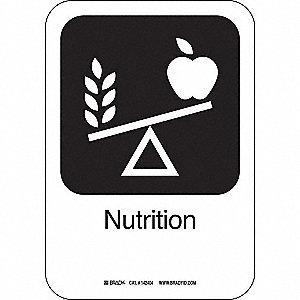 NUTRITION 10INHX7INW AL W/TXT