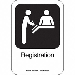 REGISTRATION 10INHX7INW PL W/TXT