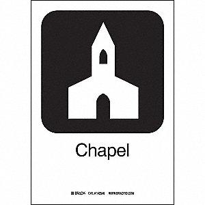 CHAPEL 10INHX7INW SS W/TXT