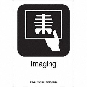IMAGING 10INHX7INW SS W/TXT
