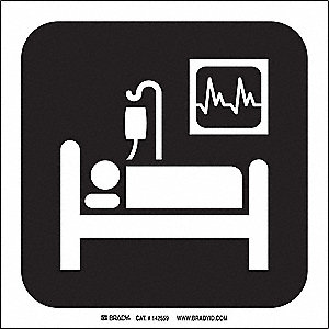 INTENSIVE CARE PICTO ONLY 8X8 SS