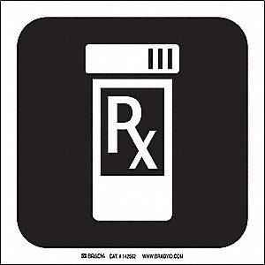 PHARMACY PICTO ONLY 8X8 SS