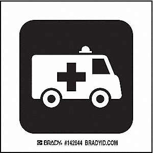 AMBULANCE ENTRNCE PICTO ONLY 4X4 SS