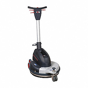 Floor Burnisher, Dust Cntrl, 20 In Pad