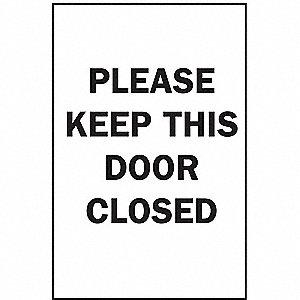 SIGN DOOR N/H 14X10