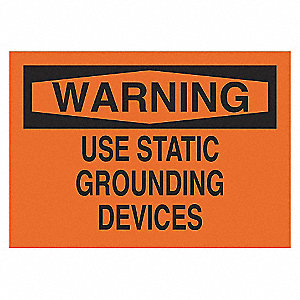 SIGN WARNING 10X14