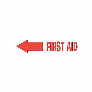 SIGN FIRST AID N/H 10X14