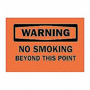 SIGN WARNING 7X10
