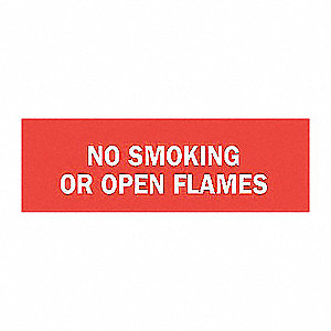 SIGN NO SMOKING N/H 7X10