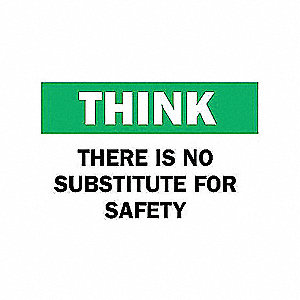 SIGN THERE IS NO SUBSTITUDE FOR....