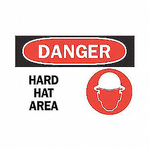 SIGN DANGER W/GRAPHIC 10X14