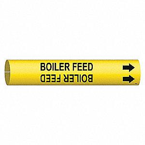 PIPEMARKER BOILER FEED