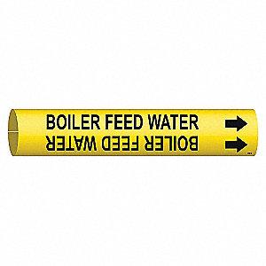 PIPEMARKER BOILER FEED WATER