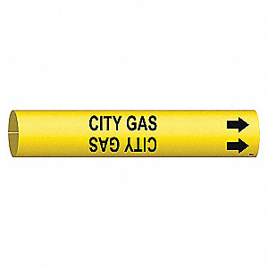 PIPEMARKER CITY GAS
