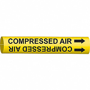 PIPEMARKER 47524 COMPRESSED AIR