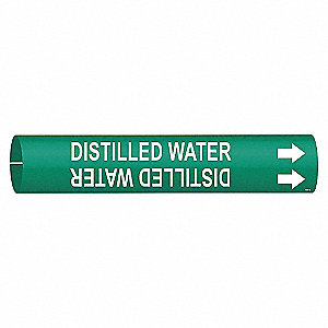 PIPEMARKER 47574 DISTILLED WATER