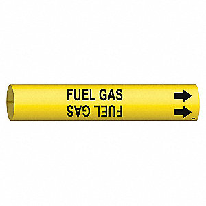 PIPEMARKER 47694 FUEL GAS