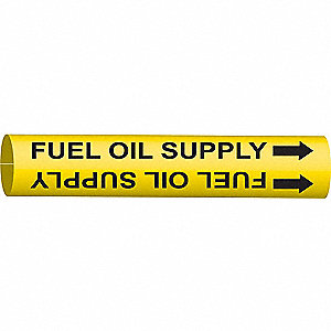 PIPEMARKER 48232 FUEL OIL SUPPLY