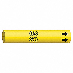 PIPEMARKER 41709 GAS