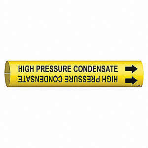 PIPEMARKER HIGH PRESSURE CONDENSATE