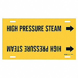 PIPEMARKER 47766 HIGH PRESSURE STEA