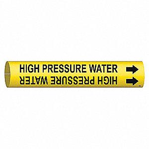 PIPEMARKER HIGH PRESSURE WATER