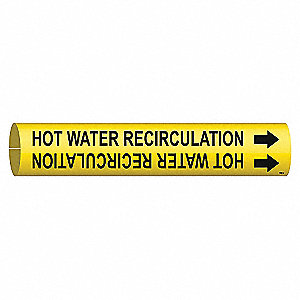 PIPEMARKER HOT WATER RECIRCULATION