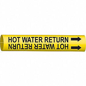 PIPEMARKER 41860 HOT WATER RETURN