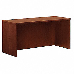 Credenza Shell,24 In D,Medium Cherry