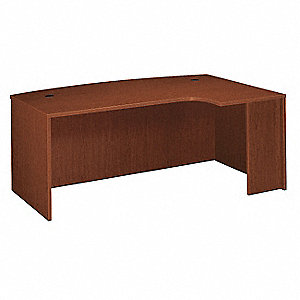 Office Desk,72 x 29 x 48 In,Cherry
