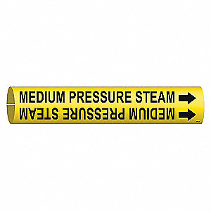 PIPEMARKER 47861 MEDIUM PRESSURE ST