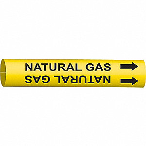 PIPEMARKER 47872 NATURAL GAS