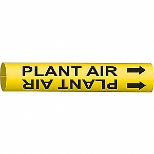 PIPEMARKER 47923 PLANT AIR
