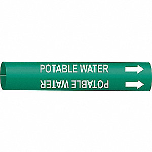 PIPEMARKER 41654 POTABLE WATER