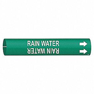 PIPEMARKER RAIN WATER