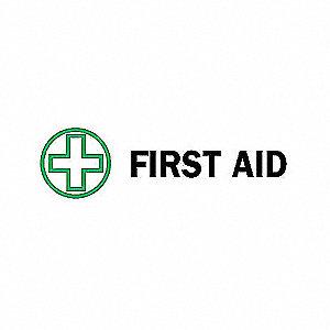 SIGN FIRST AID N/H 7X10