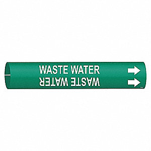 PIPEMARKER 41656 WASTE WATER
